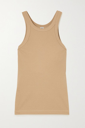 Totême Espera Ribbed Stretch Organic Cotton Tank - x small