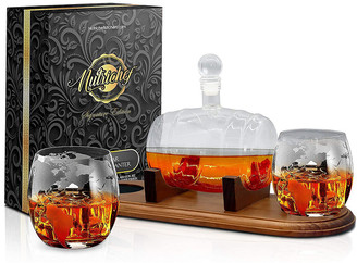 Nutrichef Home Bar Decanter Set
