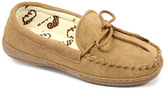 Lamo Chestnut Terry Suede Moccasin - Women