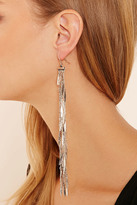Forever 21 Dimpled Fringe Duster Earrings
