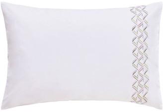 Designers Guild Saverne Standard Embroidered Pillowcase