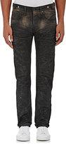 PRPS Men's Washed Cotton Melange Jeans-Dark Grey Size 40