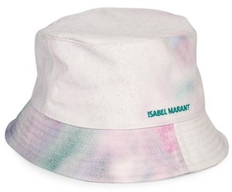 Isabel Marant Haley Muted Ombre Bucket Hat