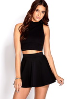Forever 21 Fresh Ribbed Crop Top