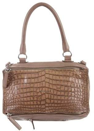 Givenchy Embossed Medium Pandora Satchel