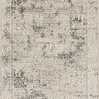 """Loloi Rugs Kingston Ivory and Gray, 5'3""""x7'6"""""""