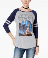 Star Wars Juniors' Darth Vader Graphic Baseball T-Shirt