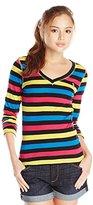 U.S. Polo Assn. Juniors' Long-Sleeve Striped T-Shirt