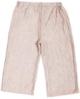 Angel & Rocket Girls' Crinkle Crop Trousers, Dusky Pink