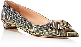 Rupert Sanderson Women's Slip On Pointed Flats