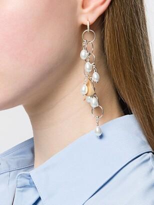 Apples & Figs Pearl Drop Earrings