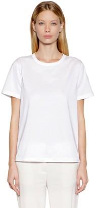 Moncler Oversized Cotton Jersey T-Shirt