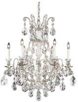 Schonbek Renaissance 7-Light Chandelier in Heirloom Gold With Clear Heritage Crystal