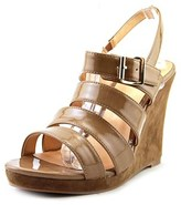 Luichiny A Dreanne Women Open Toe Synthetic Tan Wedge Sandal.