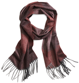 Brooks Brothers Cashmere Color-Block Scarf