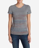 Eddie Bauer Women's Graphic Tri-Blend T-Shirt - Stars And Stripes