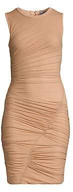 Herve Leger Women's Sleeveless Ruched Mini Dress