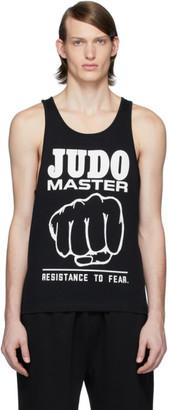 McQ Black Judo Master Tank Top