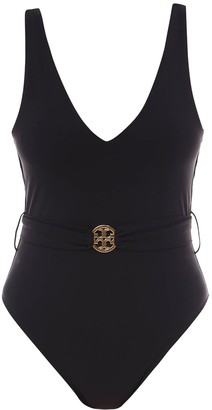 Tory Burch Belted Swimsuit