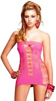 Leg Avenue Women's Strappy Spandex Tube Dress