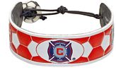 GameWear Chicago Fire Leather Soccer Bracelet