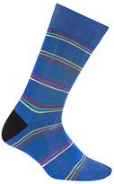 Paul Smith Fine Stripe Socks, One Size, Blue