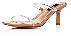 Aqua Women's Ellen Slip On Strappy Sandals - 100% Exclusive