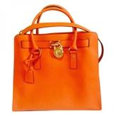 MICHAEL Michael Kors Orange Leather Handbag