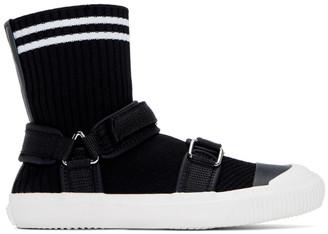 Y's Ys Black Sock Sneakers