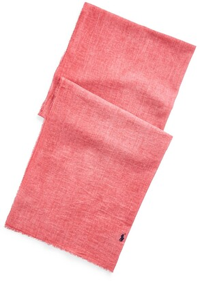 Polo Ralph Lauren Cotton Crinkled Oblong Scarf