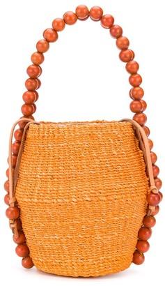 Aranaz bead embellished tote bag