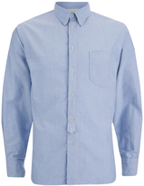 Universal Works Everyday Long Sleeve Shirt Blue