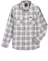 RVCA Boy's That'Ll Work Plaid Flannel Shirt