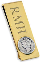 Accessories Engravable 18K Gold Electroplated Money Clip