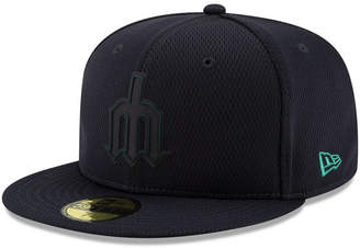 New Era Boys' Seattle Mariners Clubhouse 59FIFTY-fitted Cap
