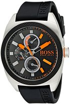 HUGO BOSS BOSS Orange Men's 1513244 LONDON Analog Display Quartz Black Watch
