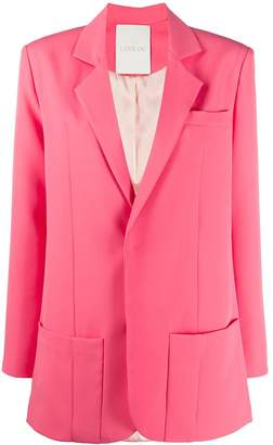 Loulou Straight Fit Suit Jacket