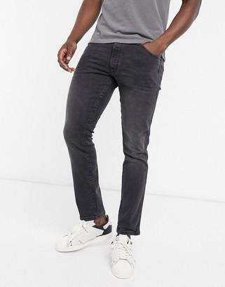 Wrangler Bryson skinny fit jeans in black