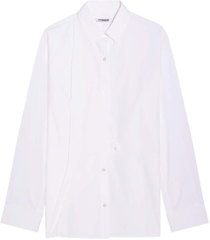 Chalayan Triangle Closure Shirt