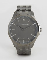 Armani Exchange Ax2169 Bracelet Strap Watch In Silver