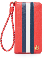 Tory Burch Scallop T Folio Case for iPhone 7