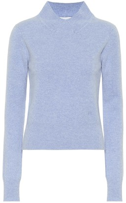 Victoria Beckham Cropped wool turtleneck sweater