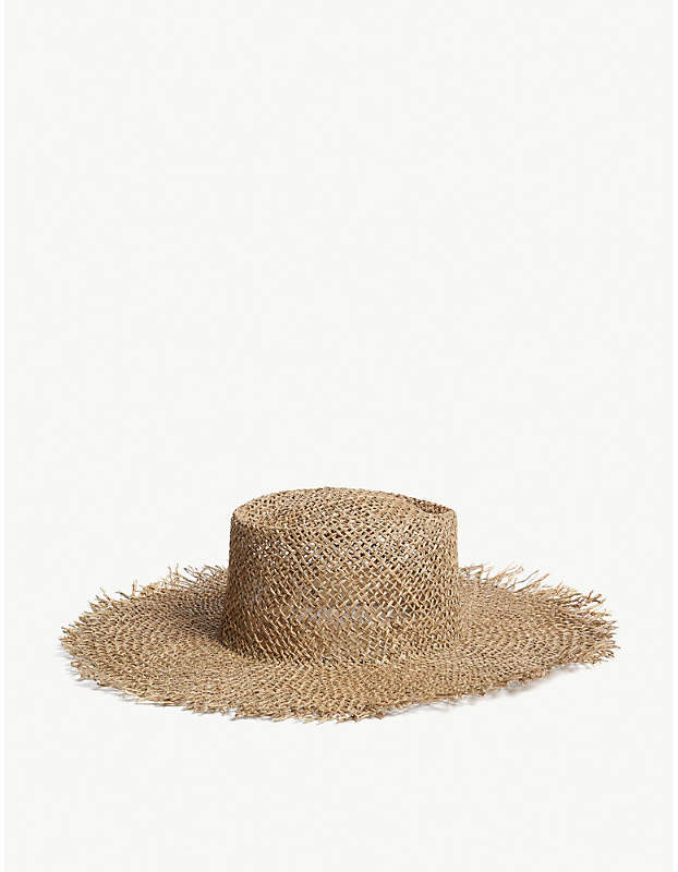 44f867fff Sunnydip Fray seagrass boater hat