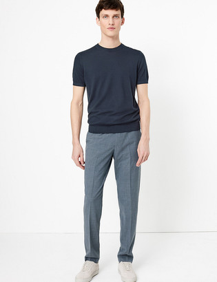 Marks and Spencer The Ultimate Blue Slim Fit Trousers