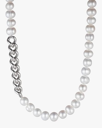 Carolee Freshwater Pearl Station Necklace
