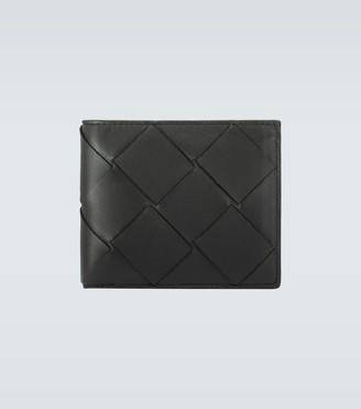 Bottega Veneta Bifold Intrecciato leather wallet