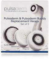 Pulsaderm Regular Replacement Brush Heads (Online Only)