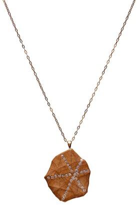 Cvc Stones 18kt yellow gold diamond Baroque necklace