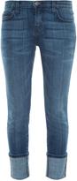Current/Elliott Cuffed Skinny Jeans