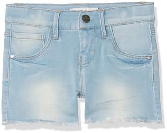 Name It Girl's NKFSALLI DNMTIA 1003 Shorts NOOS